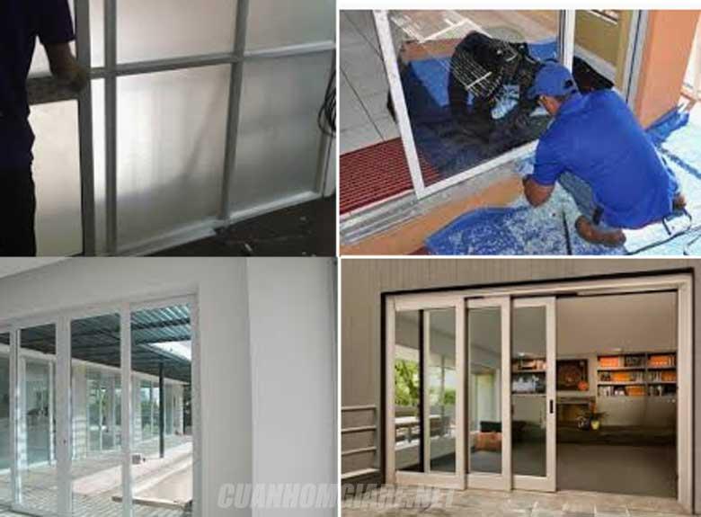 Sửa cửa kính quận 5 chuyên nghiệp