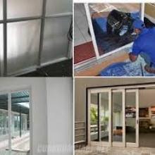 Sửa cửa kính quận Tân Phú chất lượng